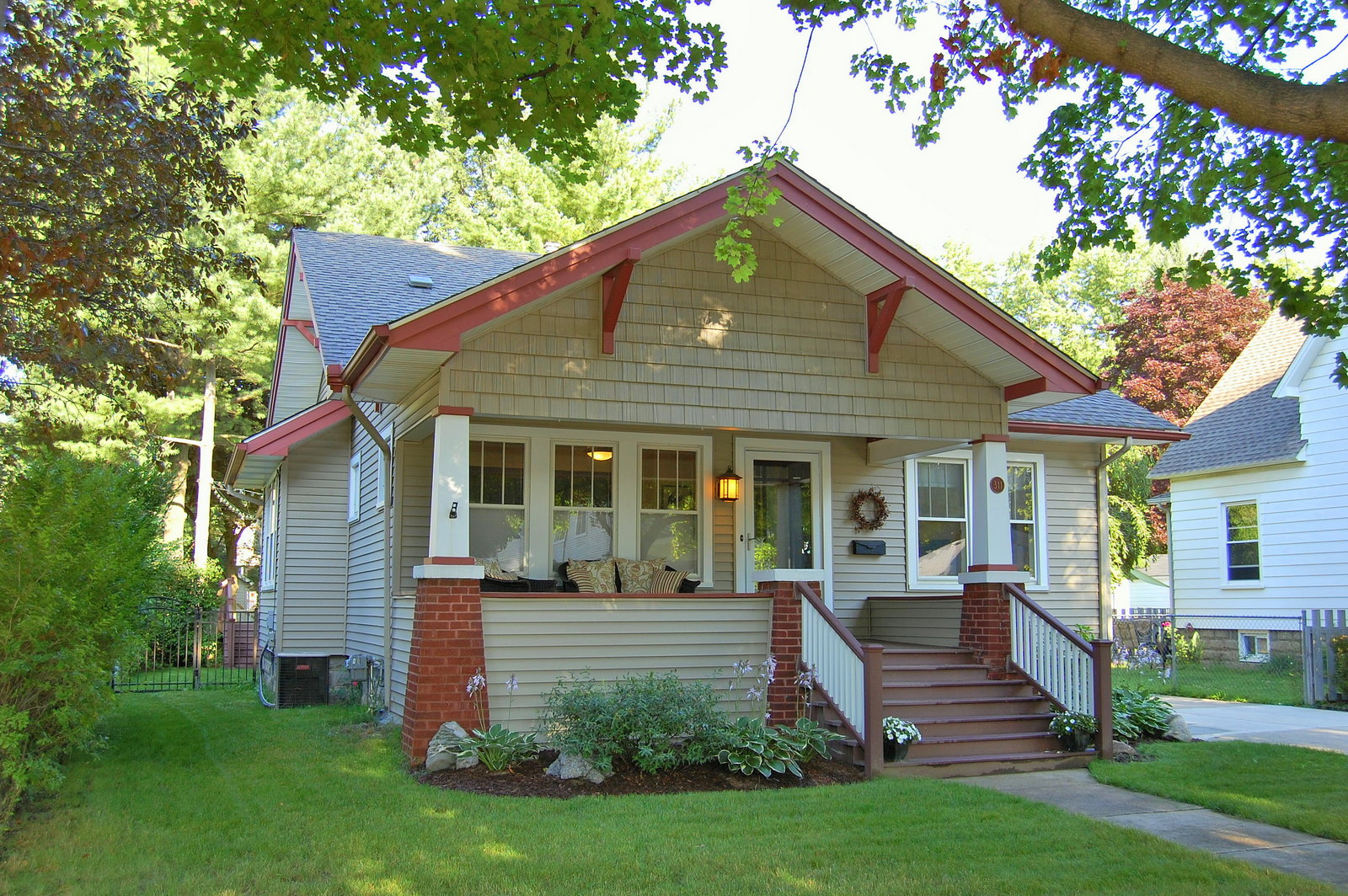 Sold 311 n harvey st fully updated craftsman style for New craftsman homes for sale