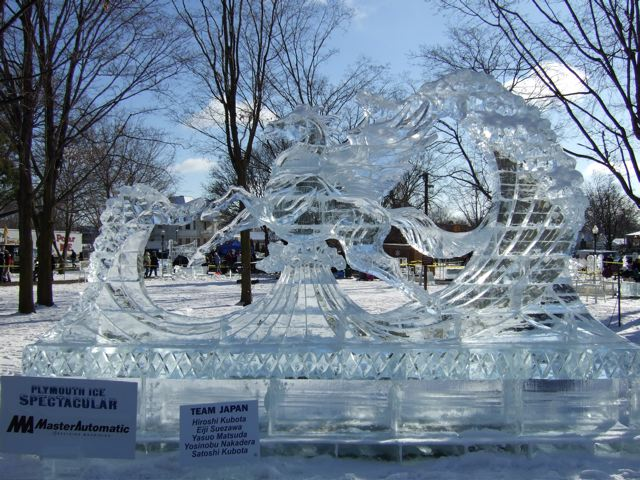 2013 Plymouth Ice Festival January 18 20 In Downtown