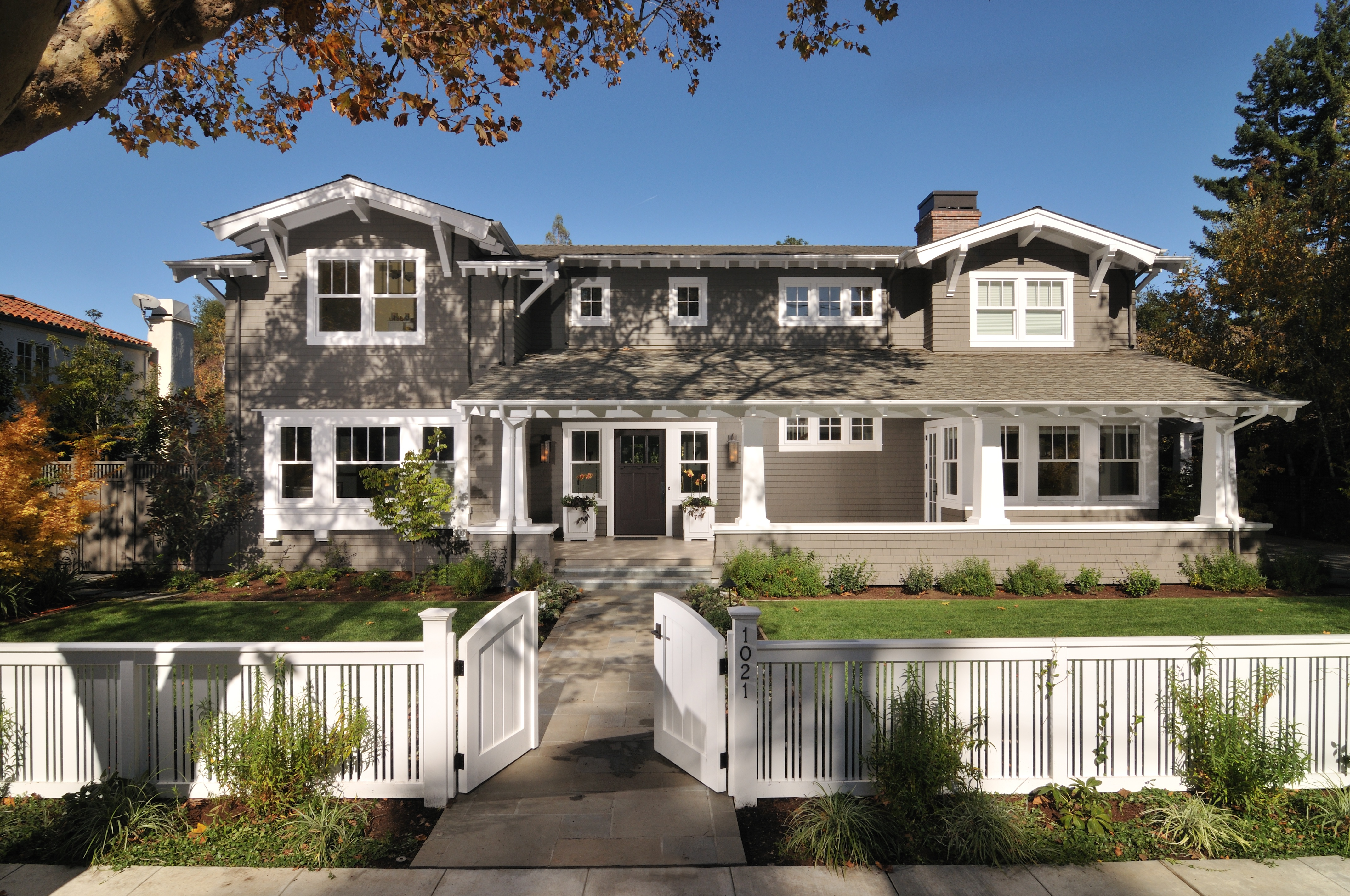 Amazing California Craftsman Homes #8: Marvin Architectu0027s Challenge: California Craftsman, Palo Alto Family Home U2013  BAKE Real Estate