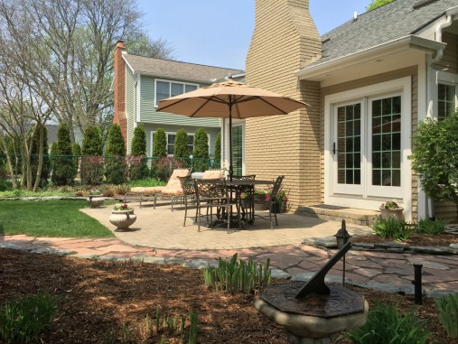 Rear Patio and Walkway