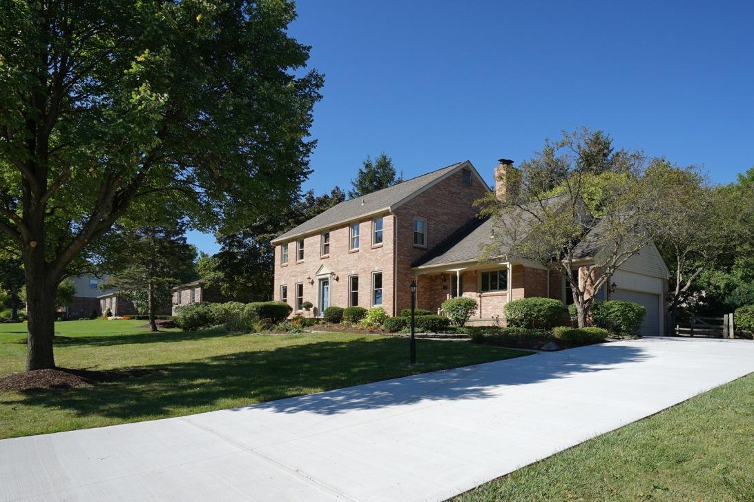 Walnut Creek Brick Colonial