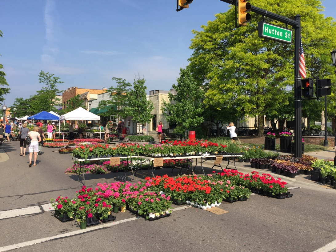Northville Flower Sale