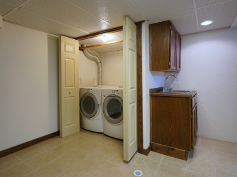 Laundry and Wet Bar