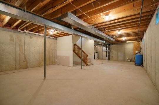 Spacious Basement