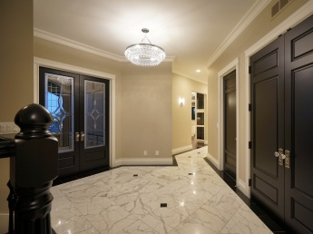 Spacious Marble Foyer